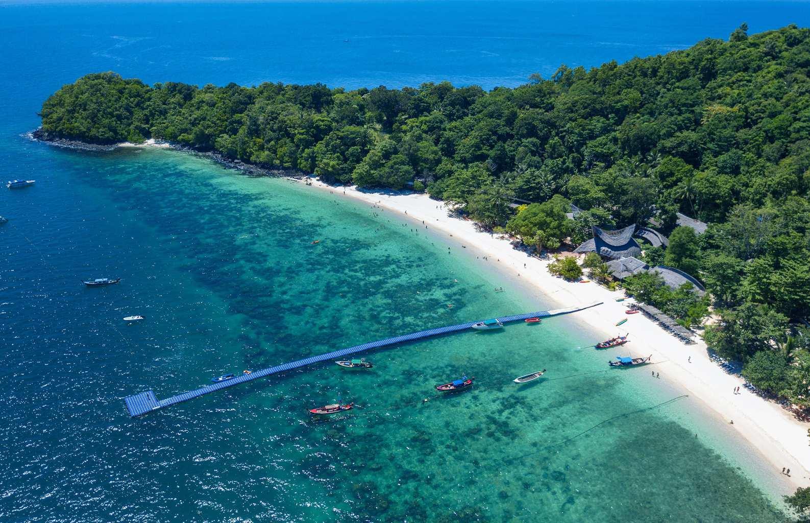 Banana Beach, Koh Hey (Coral) Island, Phuket, Thailand