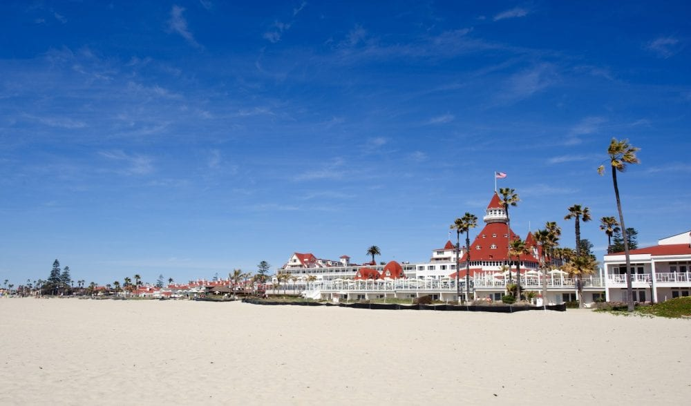 CORONADO BEACH, CALIFORNIA
