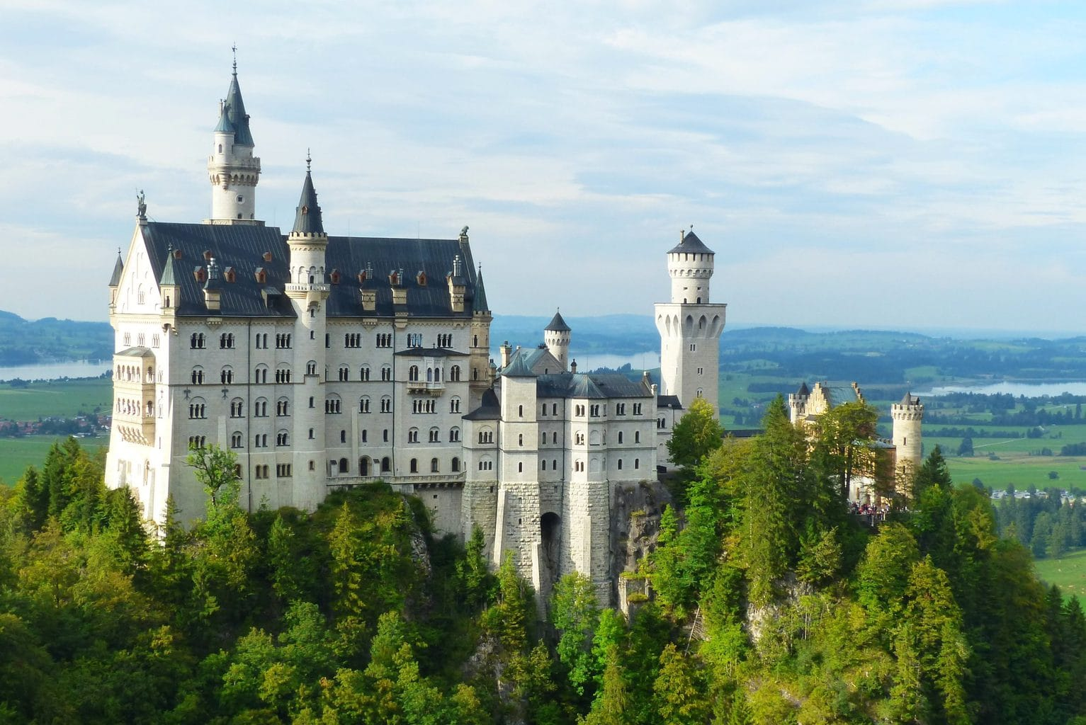 Fussen and Neuschwanstein Castle