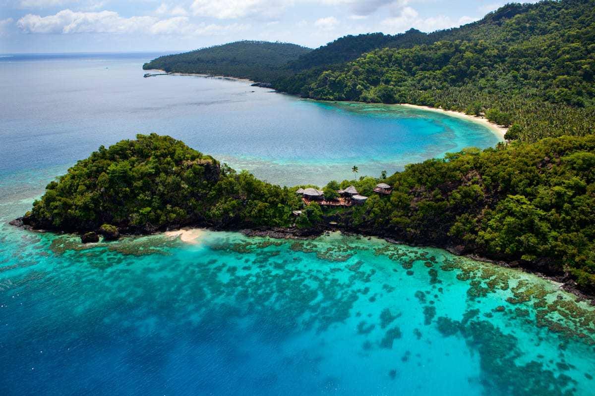 Seagrass Bay, Laucala Island, Fiji